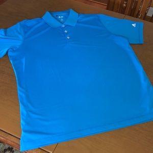 ADIDAS Golf Puremotion Blue Polo Shirt XL